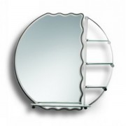مراية ارجينت كريستال DECORATIVE MIRROR SIZE: 580X780MM ARGENT CRYSTAL YJ-56004 A