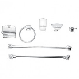 طقم اكسسوار 6 قطع FALCON 6 PCS BATHROOM ACCESSORIES SET FALCON B55100