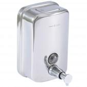 حامل صابون كباس SOAP DISPENSER 500ML ARGENT CRYSTAL 23901
