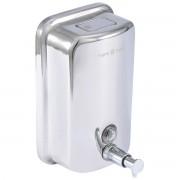حامل صابون كباس سعة 800 مل SOAP DISPENSER 800ML ARGENT CRYSTAL 23902