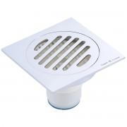 غطاء مصرف حمام مانع للروائح الكريهه SELF CLOSING DEODORANT FLOOR DRAIN ARGENT CRYSTAL 56122
