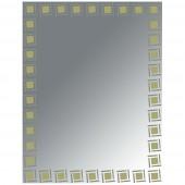 مراية ارجينت كريستال SIMPLE MIRROR SIZE: 600X800MM ARGENT CRYSTAL YJ-1252 H