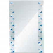 مراية ارجينت كريستال DECORATIVE MIRROR SIZE: 600X800MM ARGENT CRYSTAL YJ-1424