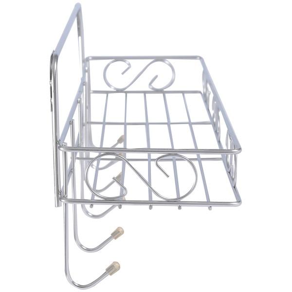 حاملة صابون ولبفه تثبيت جداري SHOWER BASKET GOLO D016