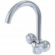 خلاط مغسله  2 يد DOUBLE HANDLE WASHBASIN MIXER GOLO GL-2201-074