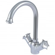 خلاط مطبخ  2 يد TWO HANDLE WASHBASIN MIXER GOLO GL-2215-170