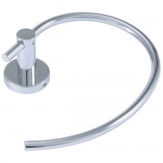 حاملة بشكير BRASS HALF TOWEL RING KLUDI RAK RAK21036