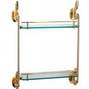 رف زجاجي بمستويين 2 LAYERS GLASS SHELF ARCHIE AT1121A-02