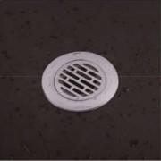غطاء مصرف حمام مانع للروائح الكريهه DEODORANT FLOOR DRAIN ARGENT CRYSTAL 23307