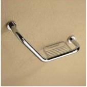 جراب بار منحني BATH HANDRAIL (L SHAPE)W/SOAP BASKET ARGENT CRYSTAL 26782
