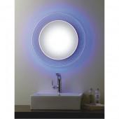 مراية ارجينت كريستال مع اضائه ل ي د LED BACKLIGHTING BATHROOM MIRROR SIZE: 590X590MM ARGENT CRYSTAL YJ-1691