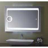 مراية ارجينت كريستال مع اضائه ل ي د LED BACKLIGHTING BATHROOM MIRROR SIZE: 800X700MM ARGENT CRYSTAL YJ-1772 F