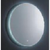 مراية ارجينت كريستال مع اضائه ل ي د LED BACKLIGHTING BATHROOM MIRROR SIZE: 590X590MM ARGENT CRYSTAL YJ-2028 E