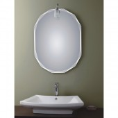 مراية ارجينت كريستال نافره BEVELED BATHROOM MIRROR SIZE: 600X800MM ARGENT CRYSTAL YJ-30011H