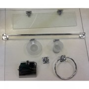 طقم اكسسوار 6 قطع FALCON 6 PCS BATHROOM ACCESSORIES SET FALCON B13000