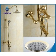 نظام دوش SHOWER SET-GOLD INJOY 6022 G